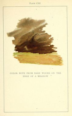 Colour Analysis Charts by Emily Noyes Vanderpoel (1902) | The Public Domain…