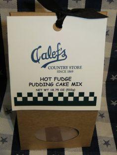 Calef's Hot Fudge Pudding Cake