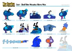 Blue Meanie | *Skin Treasures* in 2019 | Yellow submarine ...