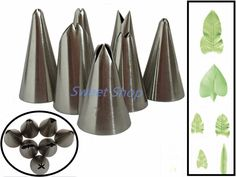 Cheap tool cutter, Buy Quality tool hoodies directly from China tools for auto repair Suppliers: Set of 7pcs Russian Tulip Icing Piping Nozzles Cake Decoration Tips DIY Cake Tool Bakeware Set Leaf
