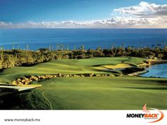 MONEYBACK MEXICO. The towns of Cabo San Lucas and San Jose del Cabo act as bookends for the 20-mile (33-kilometre) corridor of hotels and golf courses known as Los Cabos on the southern tip of the Baja Peninsula. Designer Jack Nicklaus has certainly left his mark on this Baja Peninsula. His 27-hole Palmilla, was the first Jack Nicklaus Signature golf course in Mexico. The Ocean, Desert and Mountain nines are brilliantly routed layouts over ponds and around desert scrub. #moneyback…
