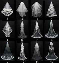 Layers Wedding Bridal Veil Lace White/Ivory Cathedral Length Birdcag Edge Bride in Clothing, Shoes & Accessories, Wedding & Formal Occasion, Bridal Accessories, Veils Wedding Attire, Wedding Gowns, Wedding Day, Vail Wedding, Wedding Reception, Autumn Wedding, Diy Wedding Veil, Reception Ideas, Wedding Posing