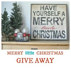 cute Merry #Christmas sign - more in her etsy shop