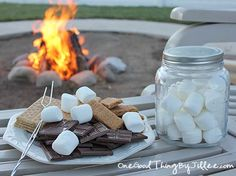 How to make your own fire starters for backyard bonfires. :-)