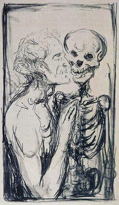 Edvard Munch - Dance of Death [1914-1916]