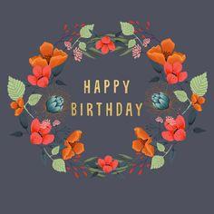 Birthday Quotes Funny For Her, Happy Birthday Messages, Happy Birthday Images, Happy Birthday Greetings, It's Your Birthday, Zentangle, Happy Birthday Wallpaper, Holiday Messages, Happy B Day