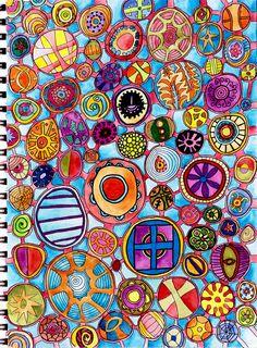 circle doodle...