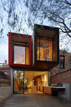 The House With a Japanese Maple Tree in Melbourne by Andrew Maynard