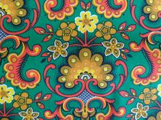 Retro stof van Osix-Vintage via DaWanda