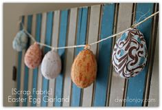 Easter Egg garland DIY