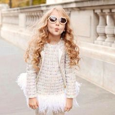 """Favorite brands like @mischkaaoki, @palecloudgirls. and @tutudumonde remind us that there's still time to dress your little angels in those winter white…"""