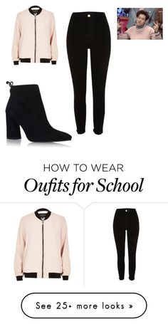 """Bam Bam After School Club Outfit"" by pizza-lover02 on Polyvore featuring River Island and Stuart Weitzman"