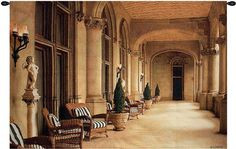 The Loggia Wall Hanging Tapestry