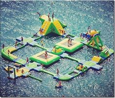 water float island. oh my goodness i just died a little..