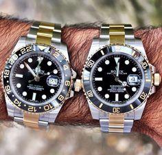Rolex GMT 2 & Submariner