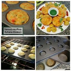 Savoury Muffins recipe by Ruhana Ebrahim posted on 29 Jan 2018 . Recipe has a rating of by 1 members and the recipe belongs in the Savouries, Sauces, Ramadhaan, Eid recipes category Halal Recipes, Real Food Recipes, Muffin Recipes, Baking Recipes, Eid Food, Salt And Pepper Chicken, Muffin Pans, Savory Muffins, Garlic Cheese