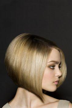 long blonde straight bob Womens haircut poker-straight hairstyles for women