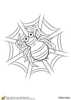 154 meilleures images du tableau coloriage de papillons et - Dessin d une fourmi ...