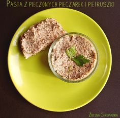 Zielona Chrupalnia : pietruszkowe pesto Pesto, Tasty Dishes, Steak, Vegan, Food, Gourmet, Essen, Steaks, Meals