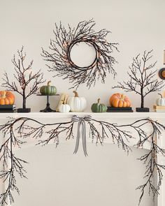 Drape our Halloween Glitter Twig Foliage on walls or tables for an instantly spooky setting. Balsam Hill, Orange Led Lights, Light Orange, Tree Decorations, Halloween Decorations, Realistic Christmas Trees, Slim Tree, Halloween Displays, Tree Shapes