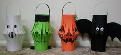 Great İdeas For Halloween at Home Diy 7 Diy & Crafts Ideas Magazine Grandes ideas para Halloween en casa Diy 7 Diy & Crafts Ideas Magazine Halloween Lanterns, Diy Halloween Decorations, Decoration Party, Crafts To Do, Crafts For Kids, Diy Crafts, Halloween Kids, Halloween Crafts, Halloween Party