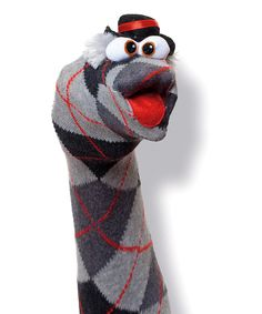 Sock puppets, oh yeah!