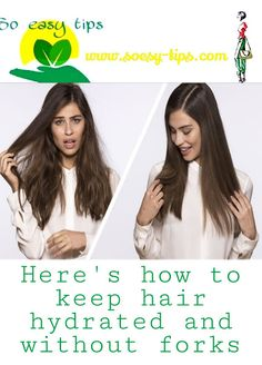 We explain how to keep the hair hydrated and we share with you some tricks so that you always enjoy good hair health. How To Hydrate Hair, Moisturize Hair, Best Masks, Honey Hair, Prevent Hair Loss, Dry Shampoo, Hair Health, Damaged Hair, Dry Hair