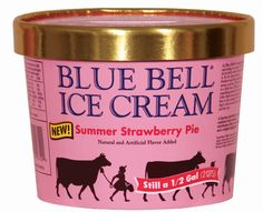 Savoury Table: National Ice Cream Month with Blue Bell, a Brandy ...