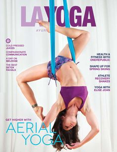 Onzie in LA YOGA magazine