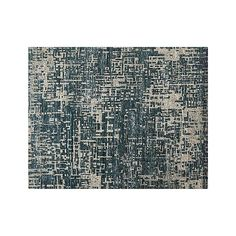 Celosia Indigo Blue Hand Knotted 8'x10' Rug | Crate and Barrel