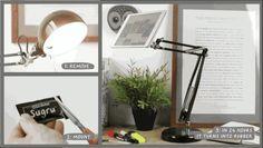 DIY tablet lamp.. err.. stand
