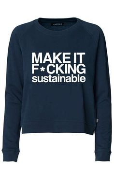 organic clothing - Tree huggers aren't always as friendly as they may appear, and the 'A Question Of' organic clothing line is definitely proof. Ethical Clothing, Ethical Fashion, Slow Fashion, Mens Fashion, Fashion Edgy, Streetwear, Fair Trade Fashion, Vogue, Sustainable Fashion