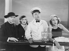 STILL FROM 'ANYTHING GOES' 1936 WITH BING CROSBY, ETHEL MERMAN, CHARLES RUGGLES…