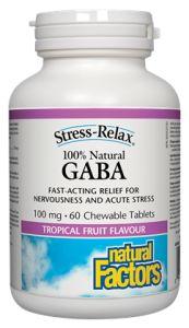 100% Natural GABA - Natural Factors