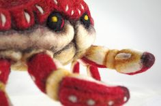 Needle Felted Sculpture by Felted Chicken