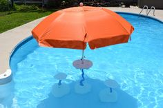 Swimming Pool Deck Umbrellas | Products, LLC, Swimming Pool Table with Umbrella, Beach Umbrella ...
