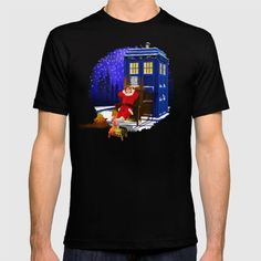 10th Doctor who Relax before Christmas tee T-SHIRT #tee #tshirt #clothing #painting #digital #ink #watercolor #comic #illustration #popart #christmas #newyear #tardisdoctorwho #doctorwho #tardis #timelord #badwolf #drwho #timetravel #starrynight