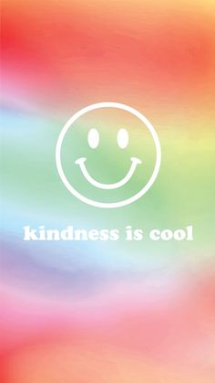 Kindness is cool wallpaper // Summer Backrounds, Cool Backrounds, Wallpaper For Your Phone, New Wallpaper, Iphone Wallpaper, Free Phones, Summer Feeling, New Instagram, Positive Quotes