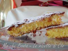 Caprese al cioccolato bianco. #ricetta di @wondercle Limoncello, Vanilla Cake, Cheesecake, Desserts, Food, Tailgate Desserts, Deserts, Cheesecakes, Essen