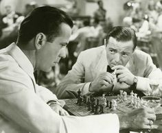 Humphrey Bogart learned how to play chess from his father, and eventually became an avid and also expert player. In the early Depression years, he played chess for money in New York City parks, Times Square and Coney Island. Playing for 50 cents a game, he won more games than he lost. More than an average chess enthusiast, Bogart became director of the United States Chess Federation and was active in the California State Chess Association in the 1940s. In 1955, he drew against Grandmaster…