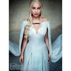 Emilia Clarke as Daenerys Targaryen ❤ liked on Polyvore featuring game of thrones and people