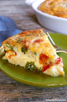 Cut the carbs and enjoy a hearty frittata recipe any time of day. This einkorn tomato basil frittata can be enjoyed on its own, accompanied by a light salad or soup, or even a side of roasted veggies. No einkorn flour? No worries! You can also make a crustless tomato basil quiche using traditional AP flour.