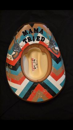 Cowgirl Customs Facebook page. All hand painted CUSTOM cowgirl hats!