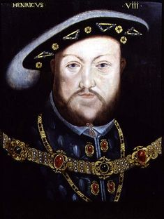 Portrait of King Henry VIII who married Katherine at first, Anne Boleyn, Jane seymour after the head of Anne Boleyn was chopped,Anna of Cleves,Kathryn Howard and at last Katherine Parr History Of England, Tudor History, British History, Asian History, London History, European History, Ancient History, Dinastia Tudor, Los Tudor