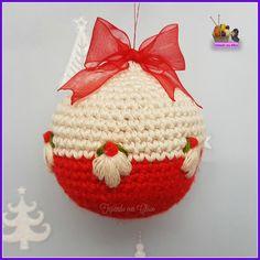 Crochet Ornaments, Felt Christmas Ornaments, Crochet Crafts, Fabric Crafts, Crochet Projects, Christmas Crafts, Crochet Christmas Cozy, Christmas Crochet Patterns, Christmas Knitting