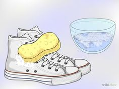 Image intitulée Clean White Converse Step 15Bullet2