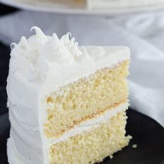 This made from scratch Basic Vanilla Cake Recipe is a one that must be added to your repertoire. It's light, tender, and full of vanilla flavor.