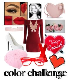 """""""Red/pink"""" by t-swizzle1989 ❤ liked on Polyvore featuring interior, interiors, interior design, home, home decor, interior decorating, Chicwish, Humble Chic, Red Camel and Yvng Pearl"""