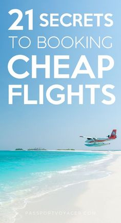 21 Secrets To Booking Cheap Flights On a budget but still want to see the world? This super helpful guide includes 21 of some of the smartest & most creative secret hacks for finding cheap flights (shared by travel pros! Solo Travel Tips, Travel Advice, Travel Hacks, Travel Ideas, Travel Essentials, Travel Quotes, Travel Inspiration, Book Cheap Flights, Find Cheap Flights