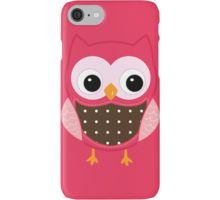 Pink Owl iPhone Case/Skin